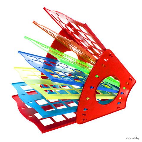 """Лоток для бумаги горизонтальный """"Darvish"""" (цветной) — фото, картинка"""