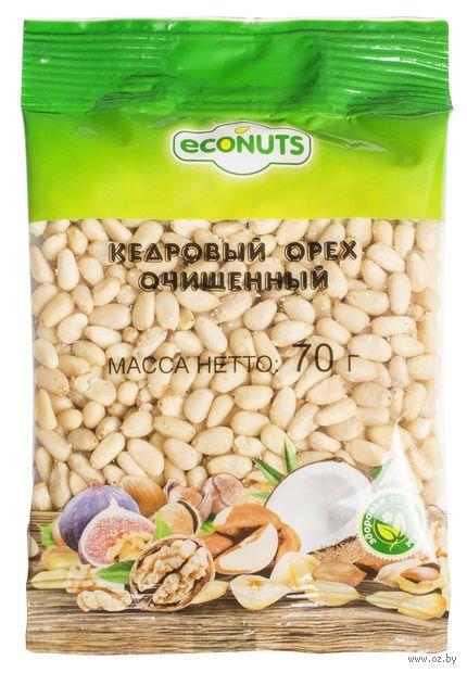 """Кедровый орех очищенный """"Econuts"""" (70 г) — фото, картинка"""