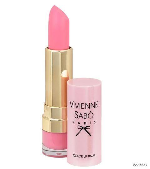 """Помада-бальзам для губ """"Color Lip Balm"""" тон: 03, розовый — фото, картинка"""
