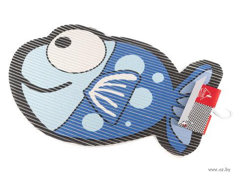 """Коврик для ванной пластмассовый """"Рыбка"""" (50х65 см) — фото, картинка"""