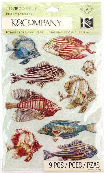 """Стикеры для скрапбукинга """"Путешествие. Рыбки"""""""