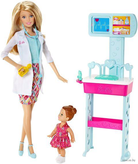 """Игровой набор """"Барби. Кем быть? Врач"""""""
