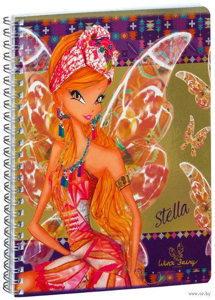 """Тетрадь в клетку """"Winx Fairy Couture"""" 48 листов"""