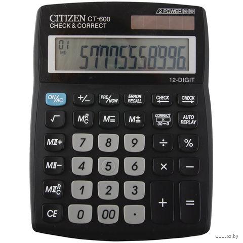 Калькулятор настольный CT-600J (12 разрядов)