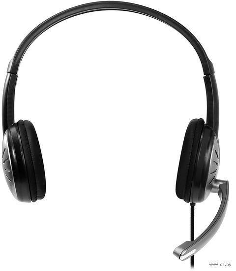 Полноразмерная стерео гарнитура SmartBuy FIGHTER, рег.громкости, кабель 2.5м (арт.SBH-7500)