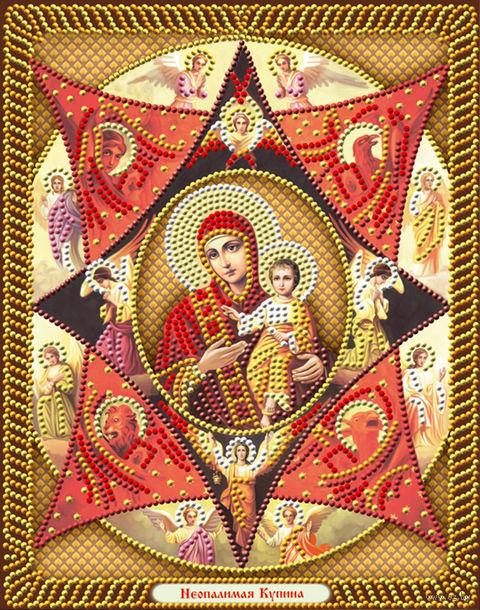"""Алмазная вышивка-мозаика """"Икона Неопалимая Купина"""" (220х280 мм) — фото, картинка"""