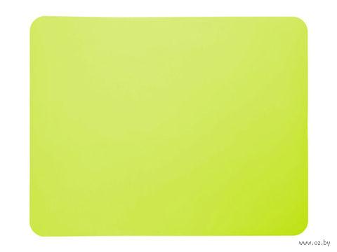 Лист для выпекания силиконовый (380x300 мм; зеленый) — фото, картинка