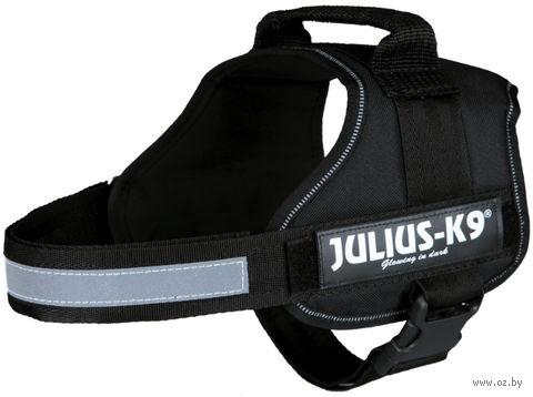 """Шлея тренировочная """"Julius-K9"""" (58-76 см; черная) — фото, картинка"""