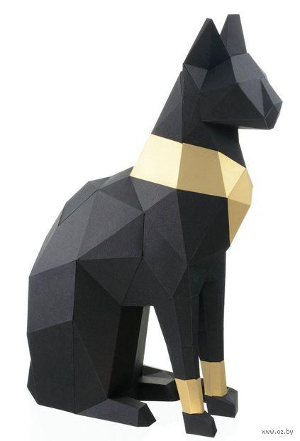 """3D-конструктор """"Кошка Бастет"""" (чёрный) — фото, картинка"""
