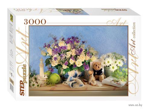 """Пазл """"Цветы"""" (3000 элементов) — фото, картинка"""