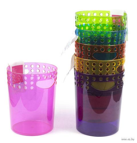Ведро для мусора пластмассовое (190х165х240 мм) — фото, картинка