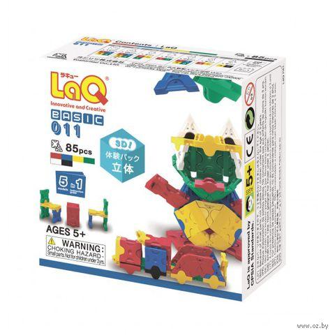 """Конструктор """"LaQ. Basic 011"""" (85 деталей)"""
