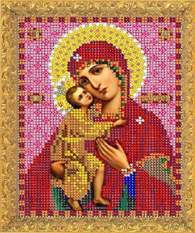 """Вышивка бисером """"Пресвятая Богородица Феодоровская"""" (арт. 8349М)"""