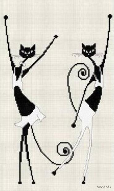 """Вышивка крестом """"Танцовщицы"""" (210x300 мм; арт. 454В) — фото, картинка"""
