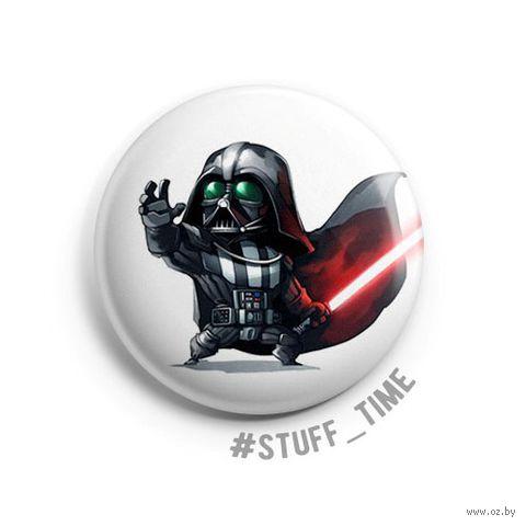 "Значок маленький ""Star Wars. Дарт Вейдер"" (арт. 621) — фото, картинка"