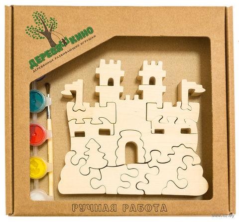"""Набор для росписи по дереву """"Замок с башнями"""" — фото, картинка"""