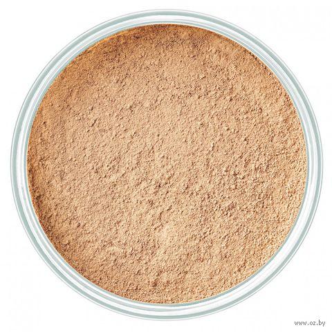 """Рассыпчатая пудра для лица минеральная """"Mineral Powder Foundation"""" (тон: 6, honey) — фото, картинка"""
