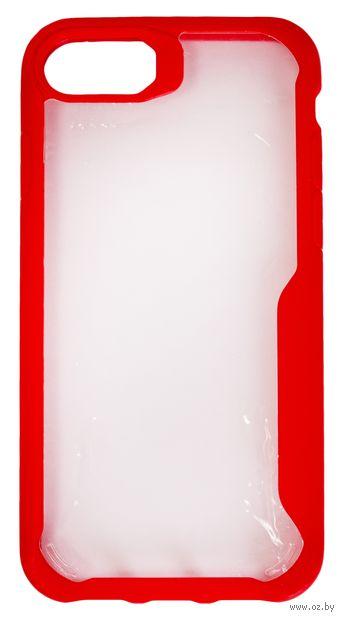 Чехол Biggo для iPhone 7/8 (красный) — фото, картинка
