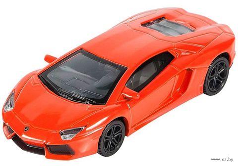 "Модель машины ""Lamborghini Aventador LP700-4 Roadster"" (масштаб: 1/43) — фото, картинка"