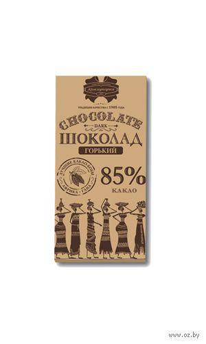 """Шоколад горький """"Коммунарка. 85% какао"""" (100 г) — фото, картинка"""