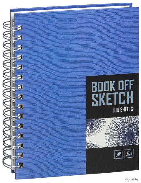 """Блокнот А5 100 листов """"Book off Sketch"""" (ассорти)"""