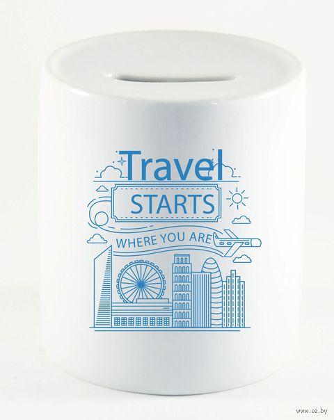 "Копилка ""Travel starts"" (арт. 755)"