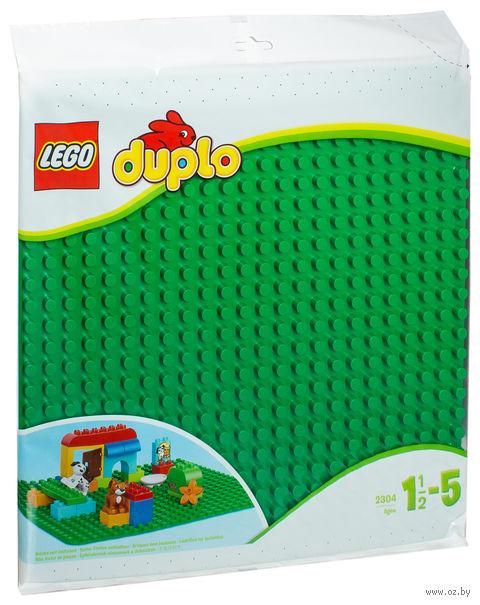 "LEGO Duplo ""Строительная пластина"" (380х380 мм) — фото, картинка"