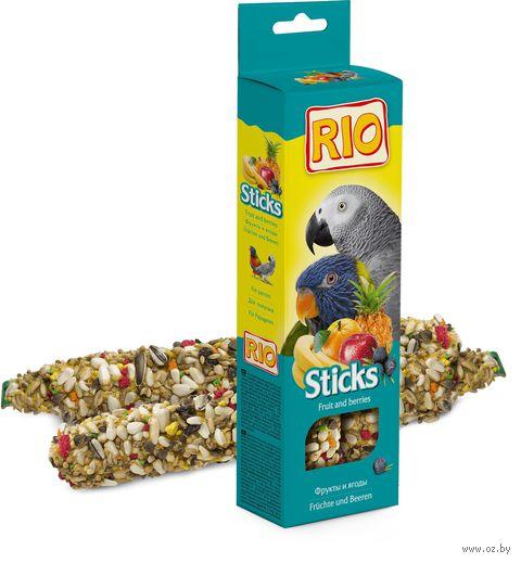 Лакомство для попугаев (2 шт.; с фруктами и ягодами) — фото, картинка