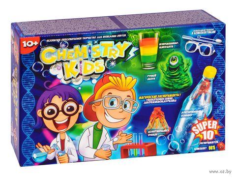 """Набор для опытов """"Chemistry Kids. 10 магических экспериментов"""" — фото, картинка"""