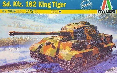 "Сборная модель ""Танк Sd.Kfz.182 King Tiger"" (масштаб: 1/72) — фото, картинка"