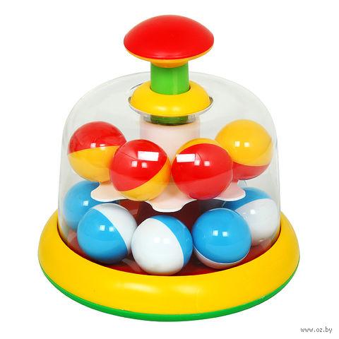 "Юла с шариками ""Карусель"" (коробка) — фото, картинка"