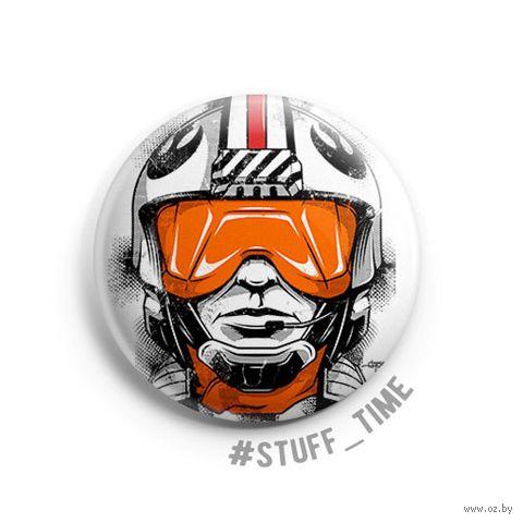 """Значок маленький """"Star Wars. Люк"""" (арт. 630) — фото, картинка"""