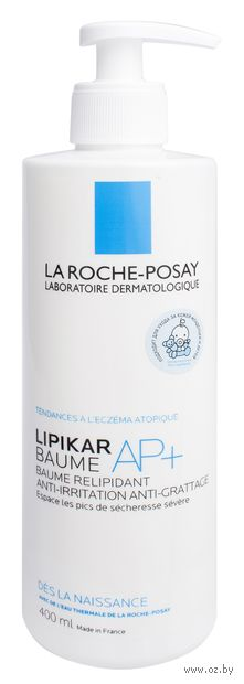 """Бальзам для тела """"Lipikar Baume AP+"""" (400 мл) — фото, картинка"""