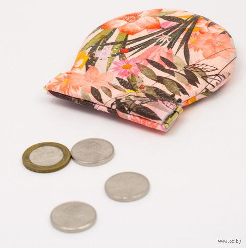 "Монетница круглая ""Букет"" — фото, картинка"