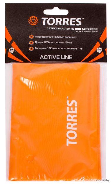 Эспандер ленточный (оранжевый; арт. AL0020/21) — фото, картинка