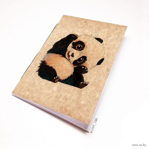 """Блокнот крафт """"Панда"""" А7 (509)"""