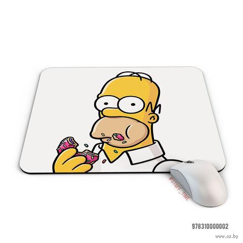 "Коврик для мыши ""Симпсоны. Гомер"" (арт. 002) — фото, картинка"