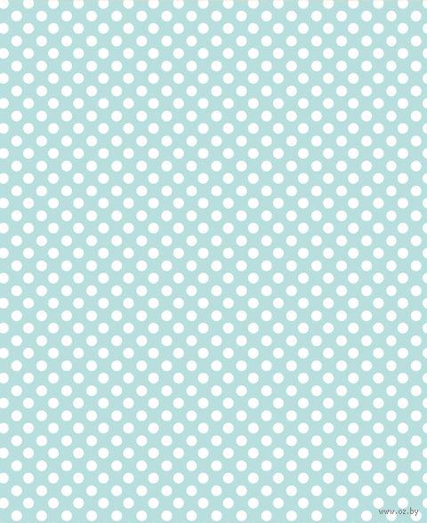 """Простыня хлопковая на резинке """"Mint"""" (90х200 см) — фото, картинка"""