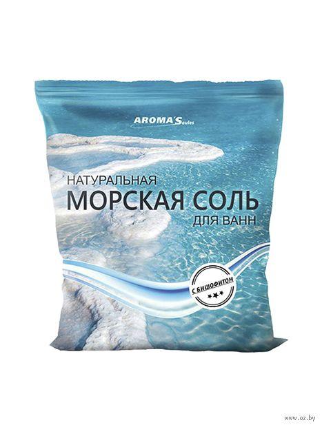 """Соль для ванн """"Морская. С бишофитом"""" (1 кг) — фото, картинка"""