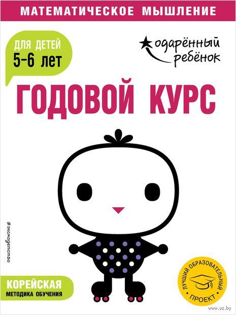 Годовой курс. Для детей 5-6 лет (+ наклейки) — фото, картинка