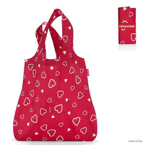 """Сумка складная """"Mini maxi shopper"""" (hearts)"""