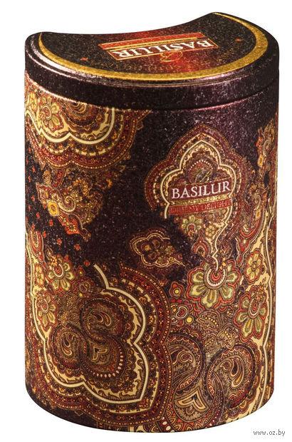 """Чай черный листовой """"Basilur. Восточное очарование"""" (100 г; в банке) — фото, картинка"""