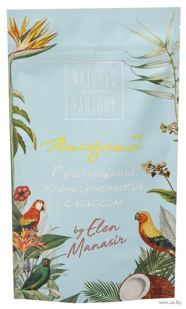 """Напиток чайный """"Nature's Own Factory. Гречишный с кокосом"""" (100 г) — фото, картинка"""