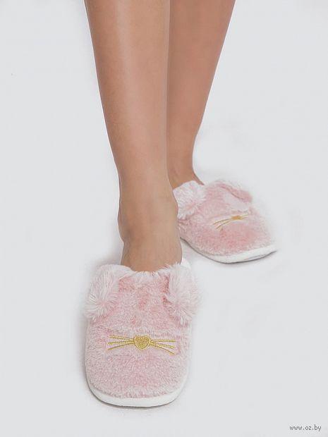 "Тапочки женские ""JY19W01"" (розовые) — фото, картинка"