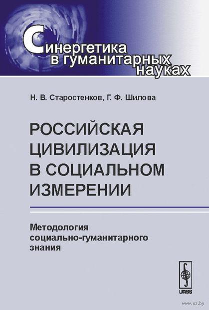 Российская цивилизация в социальном измерении. Методология социально-гуманитарного знания — фото, картинка