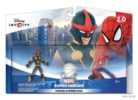 "Disney. Infinity 2.0. Набор ""2+1"". ""Человек-паук"" (Человек Паук, Нова, Локация ""Человек-паук"")"