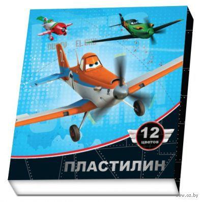 """Пластилин """"Disney. Самолеты"""" (12 цветов)"""