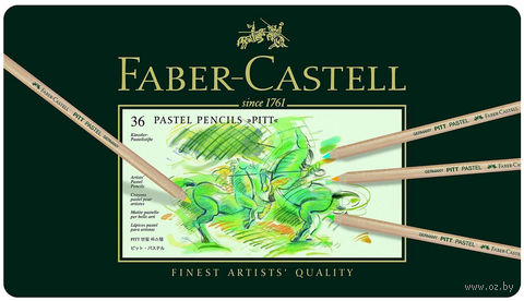 Пастельные карандаши PITT® (36 цветов)