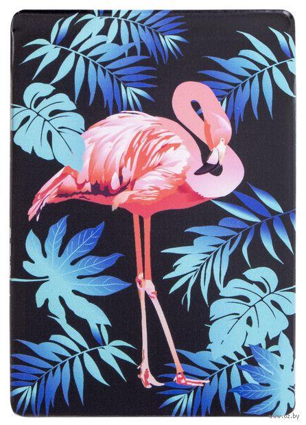 """Чехол для проездного билета """"Фламинго"""" — фото, картинка"""