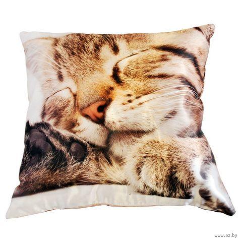 """Подушка """"Кошки"""" (35x35 см; арт. A0177) — фото, картинка"""